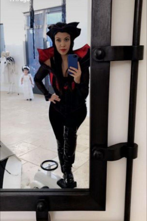 Kourtney Kardashian como vampira