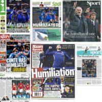 """""""The Humiliated One"""", es el nuevo apodo que le pusieron a Mourinho en Inglaterra"""