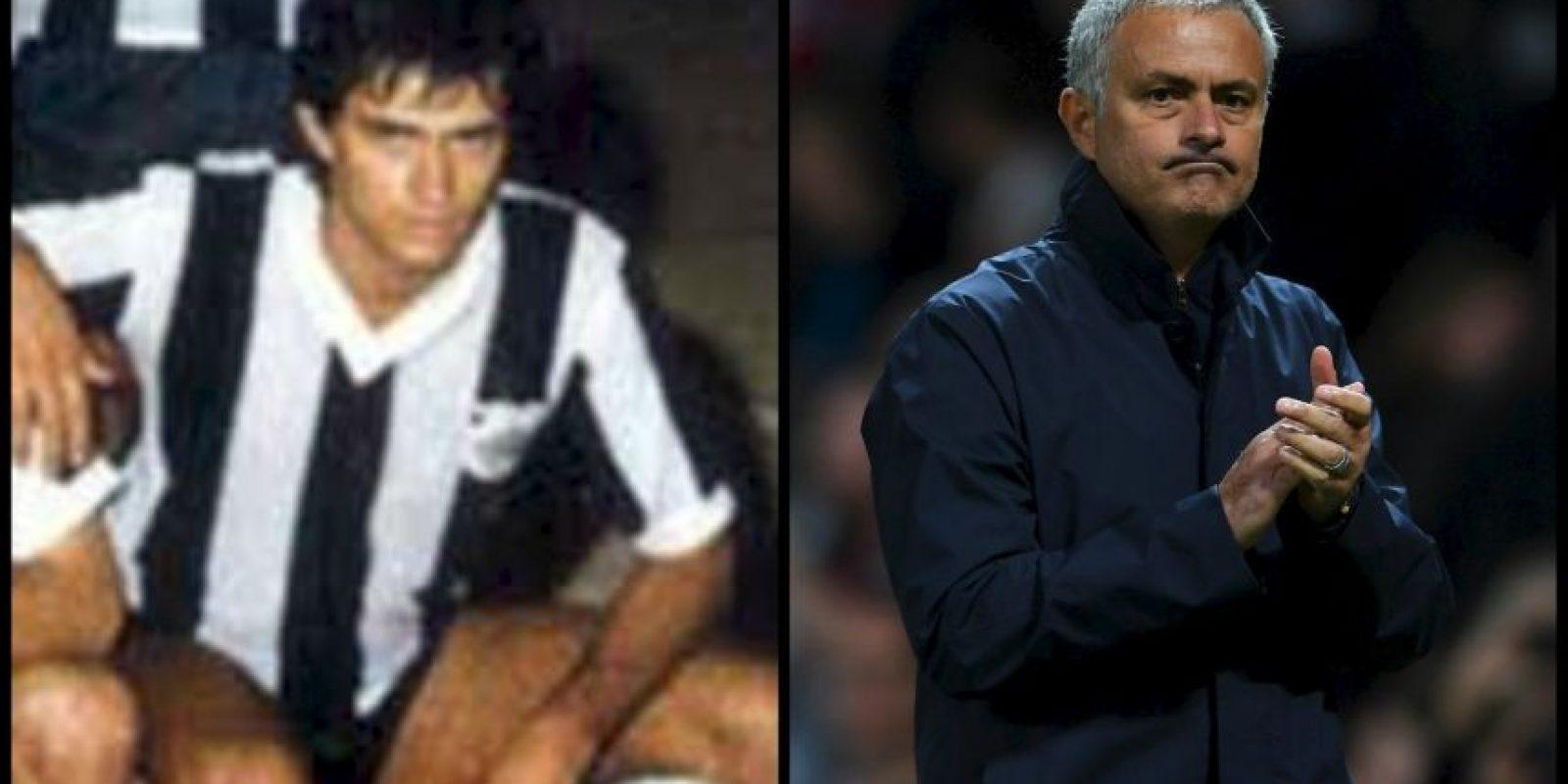 Tuvo una corta carrera como futbolista en pequeños club de Portugal. Sus grandes éxitos no serían dentro de la cancha, sino fuera de ella. Foto:Getty Images