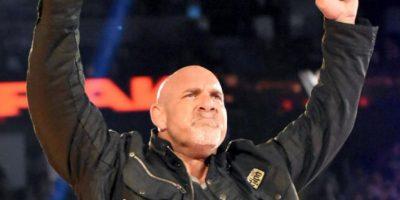 Así fue el regreso de Goldberg a WWE Foto:WWE