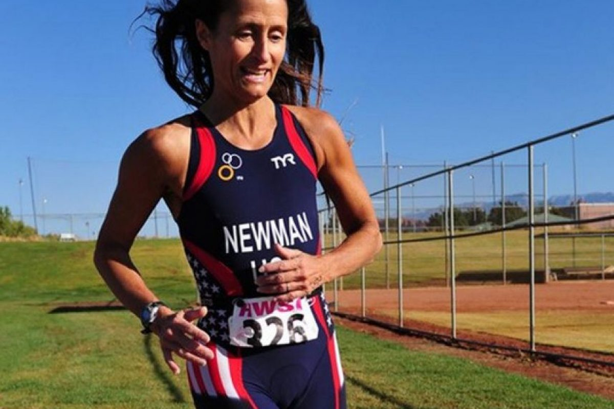 Karen Newman – triatleta estadounidense Foto:Getty Images