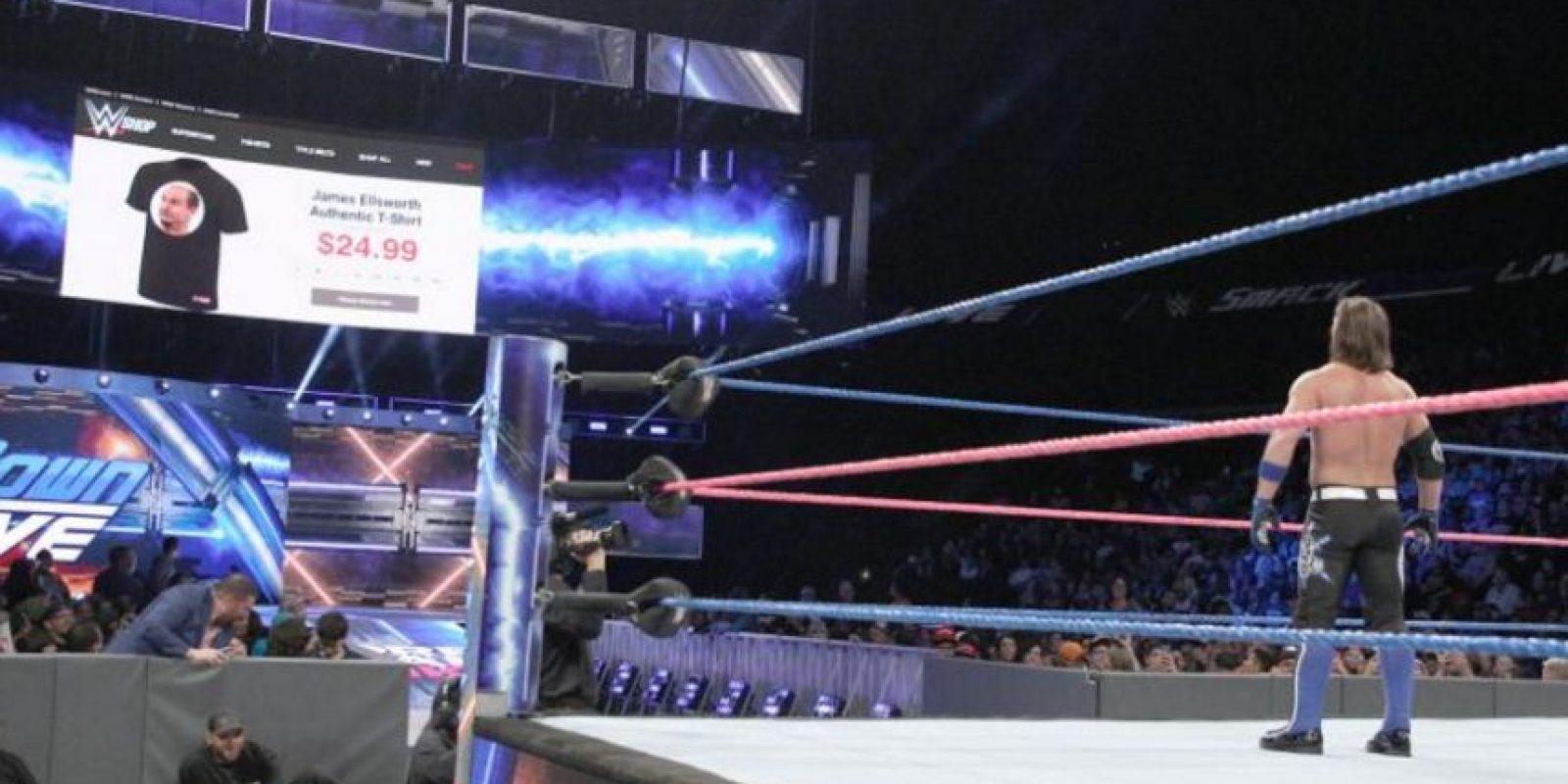 Las mejores imágenes de James Ellsworth en WWE Foto:WWE