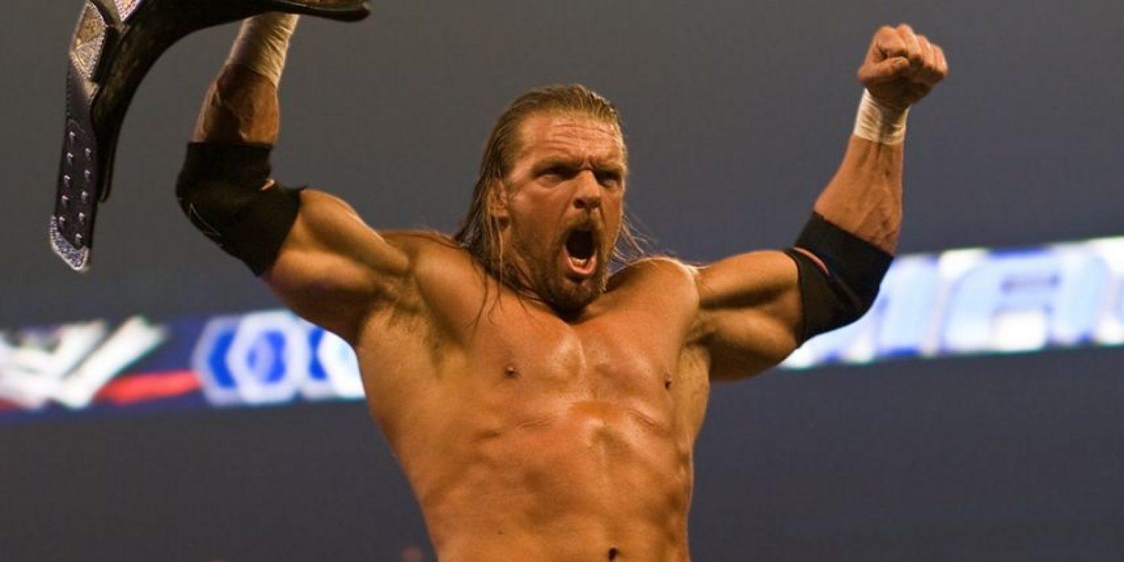 """Triple H. """"El Juego"""" ha sido rey en 609 días"""
