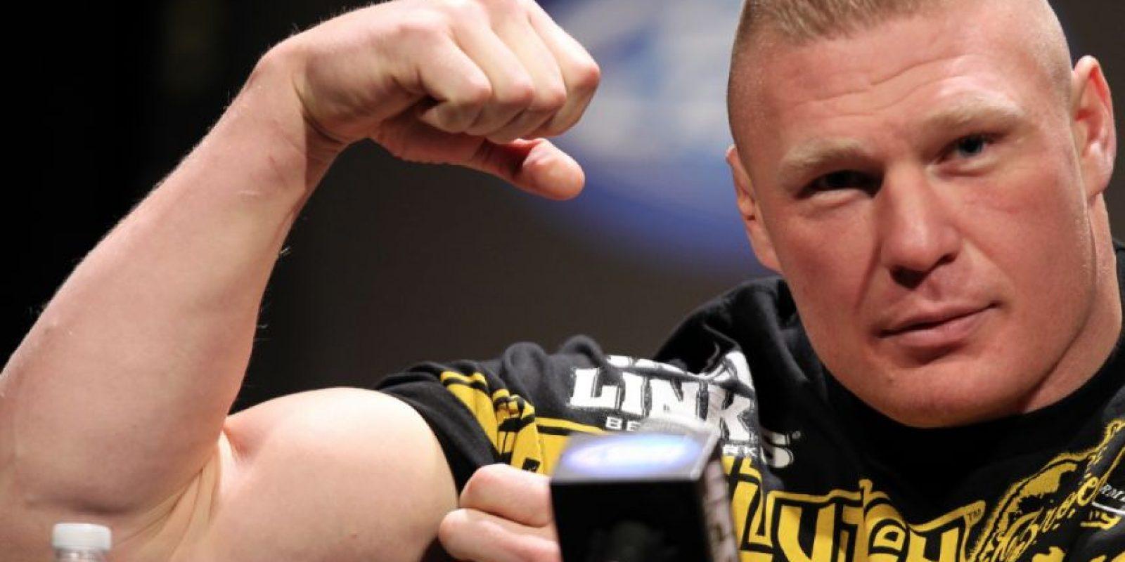 """9. Brock Lesnar. """"La Bestia"""" ha sido monarca en 579 días"""