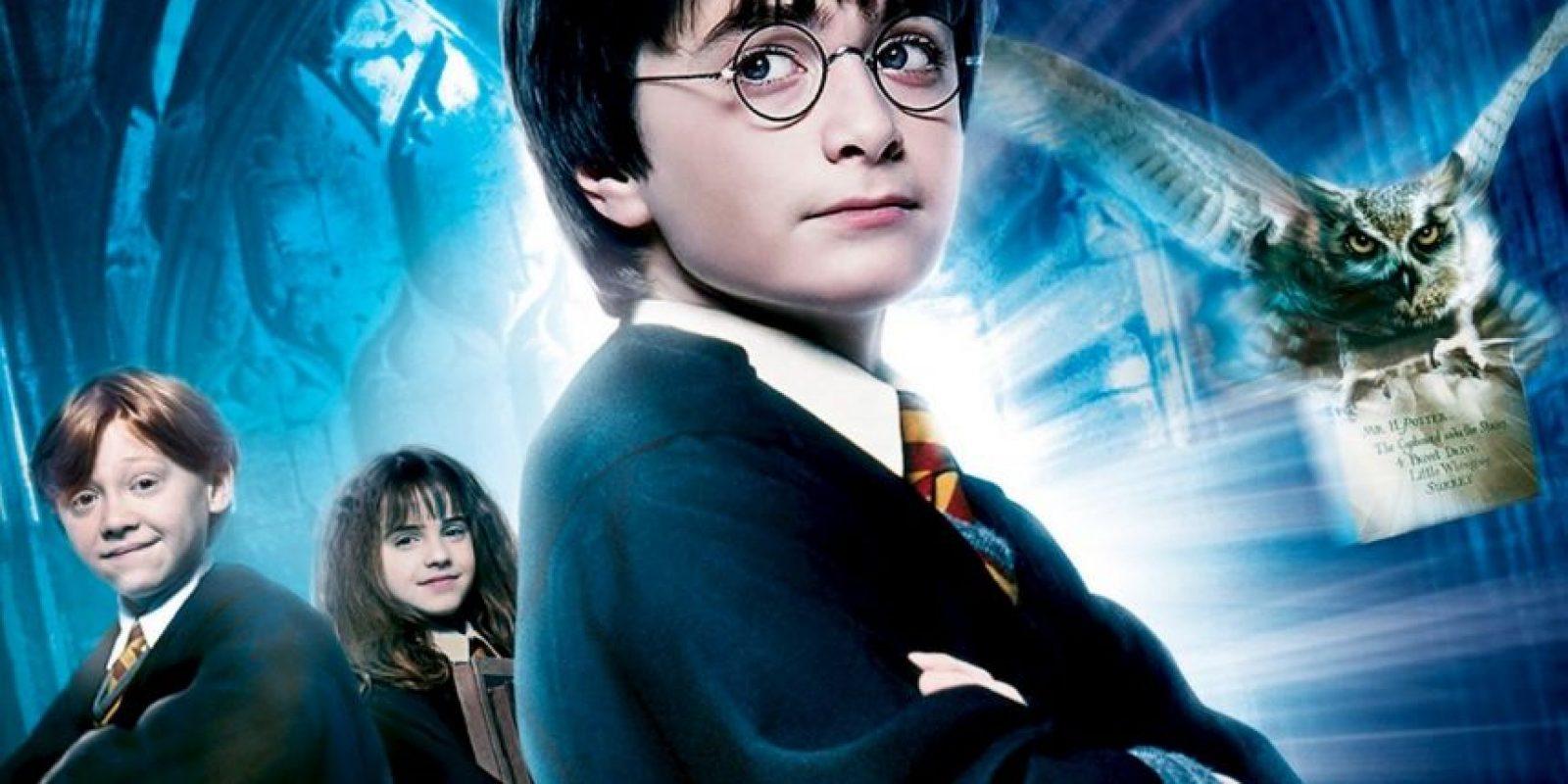 Harry Potter y la piedra filosofal Foto:Warner