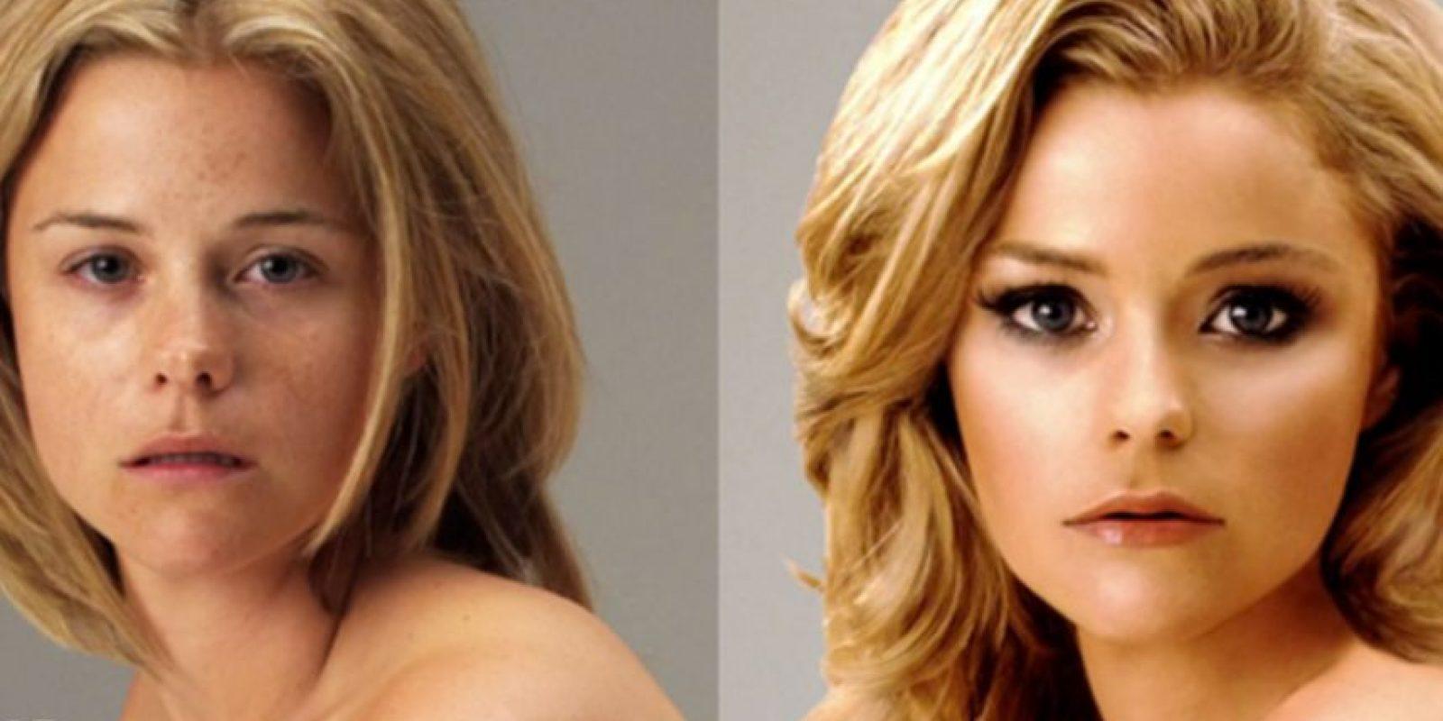 Las celebridades no quieren tanto retoque en sus caras y cuerpos Foto:Tumblr