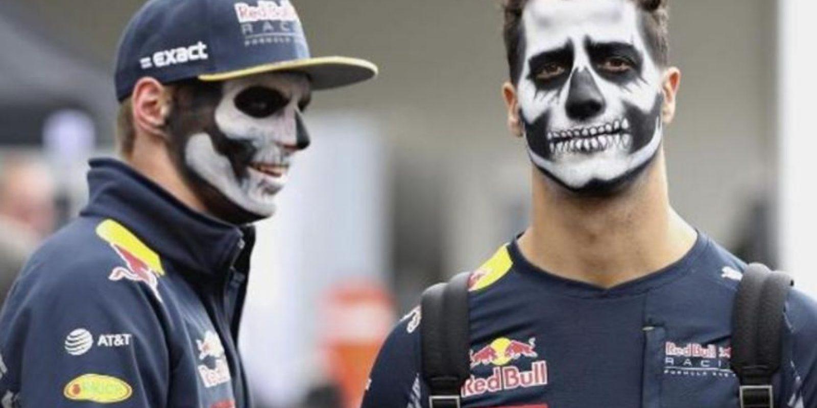 Daniel Ricciardo y Max Verstappen (pilotos de F1) Foto:Instagram