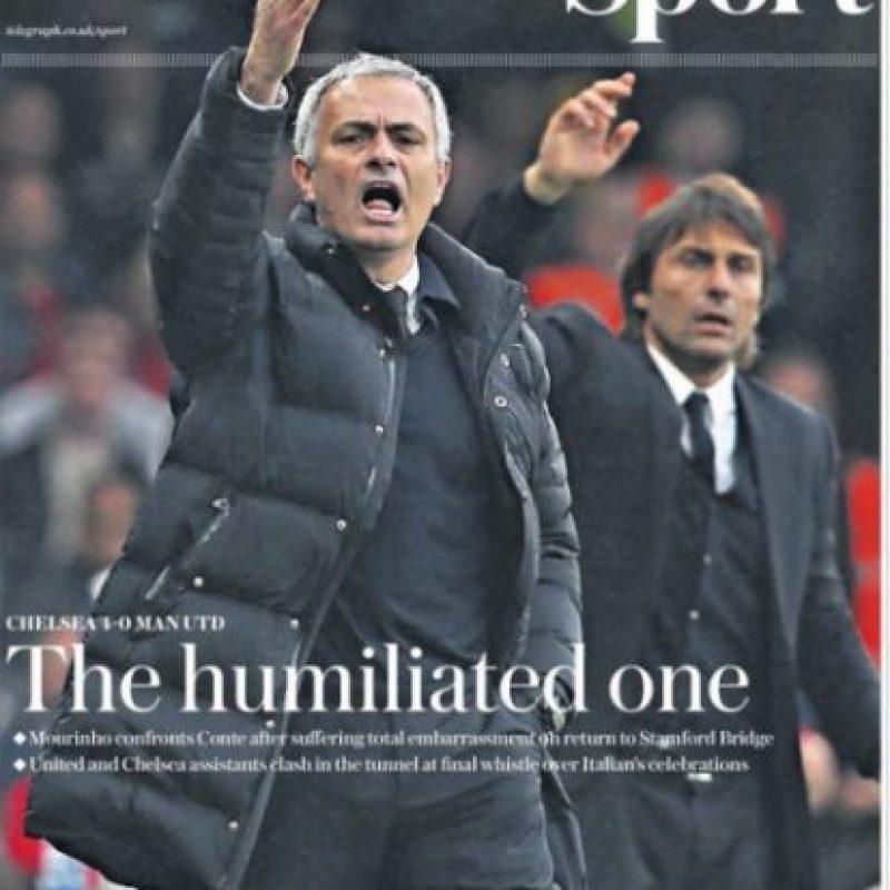 """""""Humillado"""". Esa fue la palabra para definir la derrota de Manchester United por 4 a 0 ante Chelsea."""