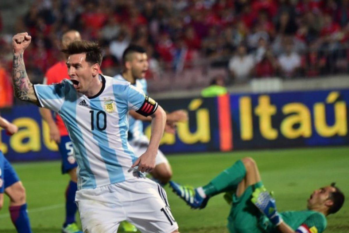 Ante Chile fue fundamental para que ganen por 2 a 1. Foto:AFP