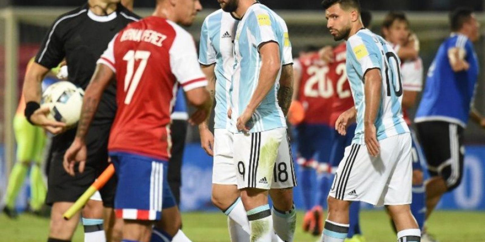 4. Los referentes como Agüero e Higuaín no hacen diferencia Foto:Getty Images