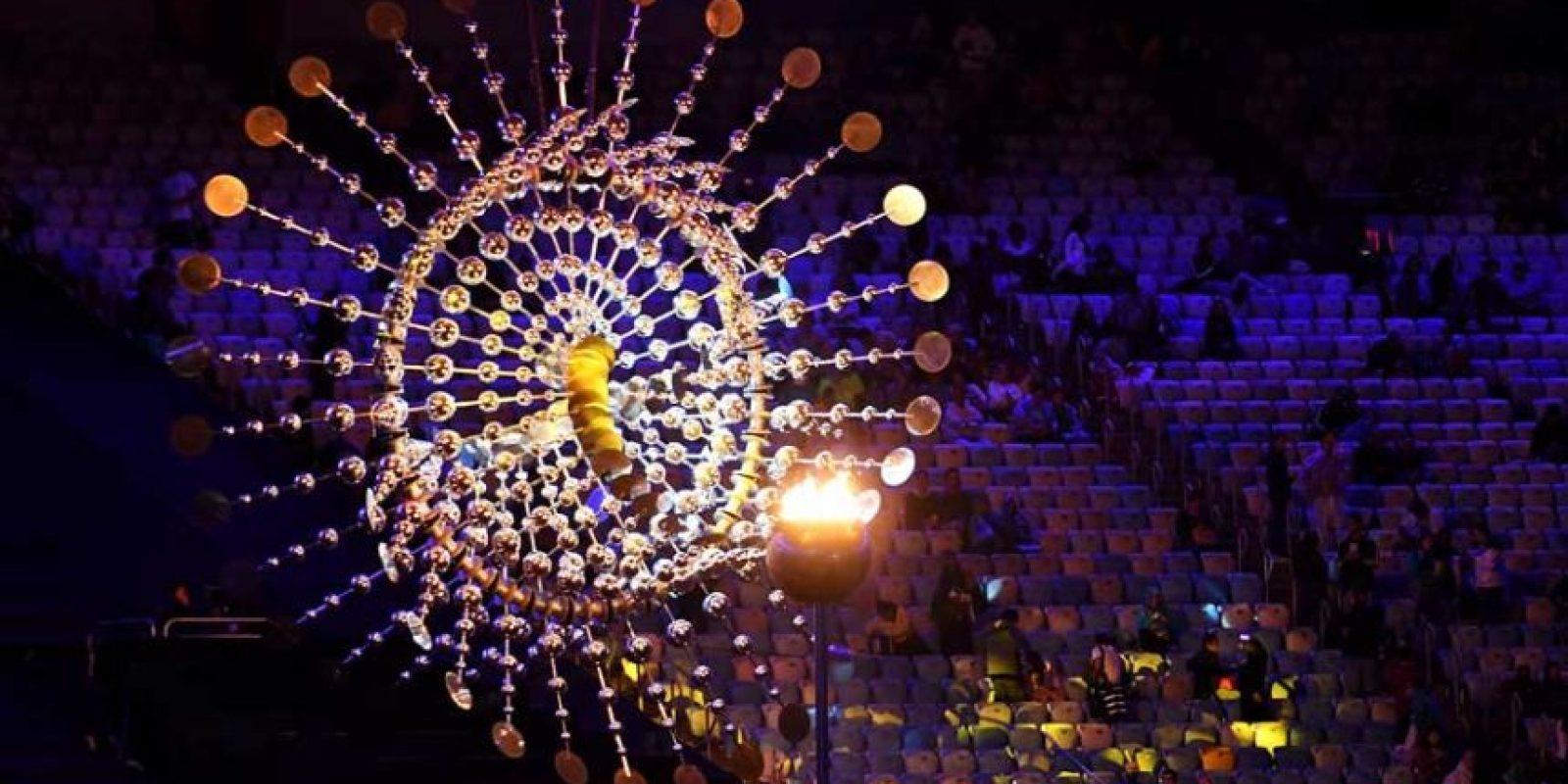 La llama olímpica será apagada.