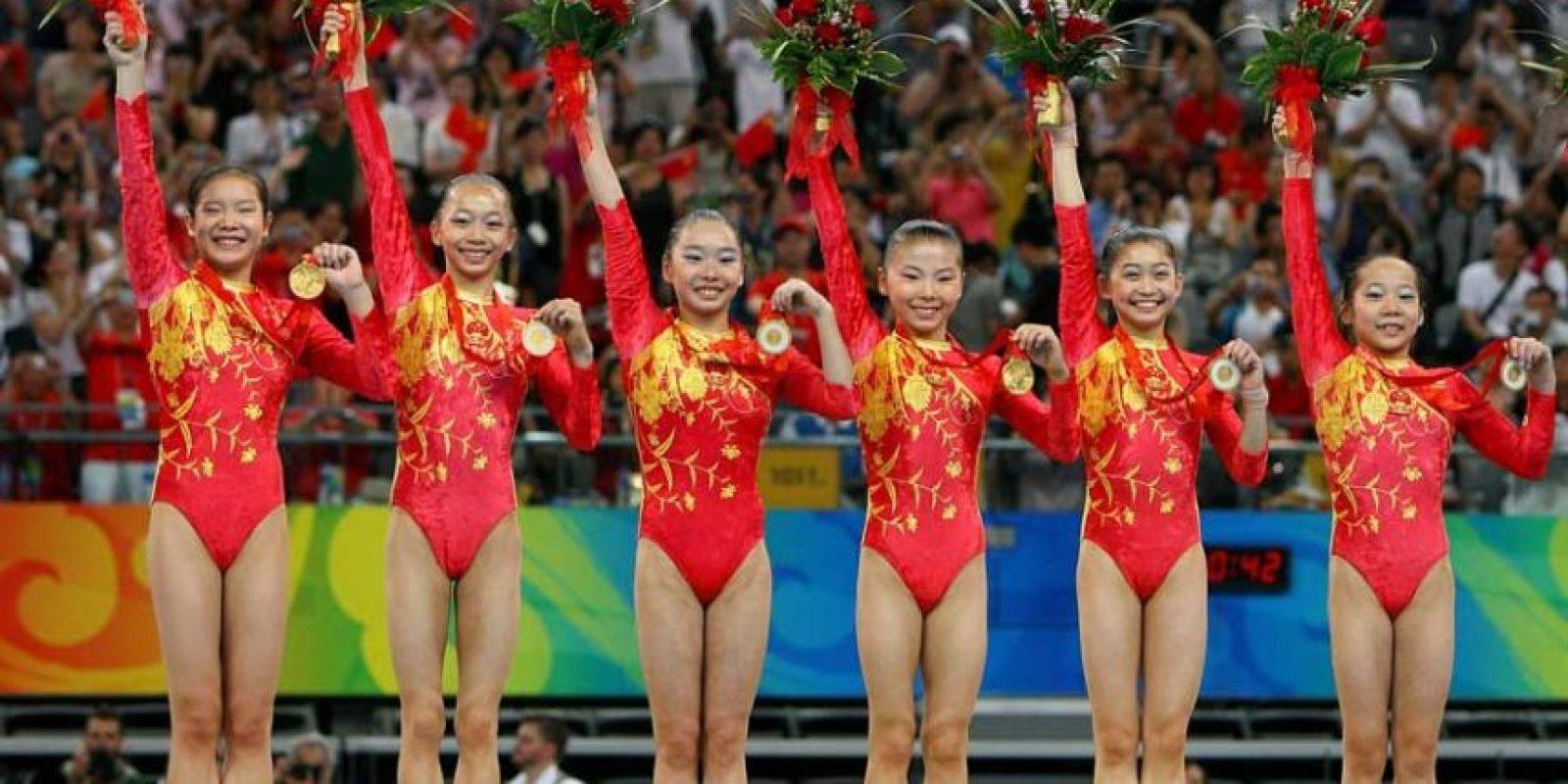 Beijing 2008: China arrasó y ocupó el puesto más alto del medallero. Foto:Getty Images