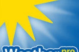 5- WeatherPro. Cuesta 2.99 dólares. Foto:MeteoGroup Deutschland GmbH