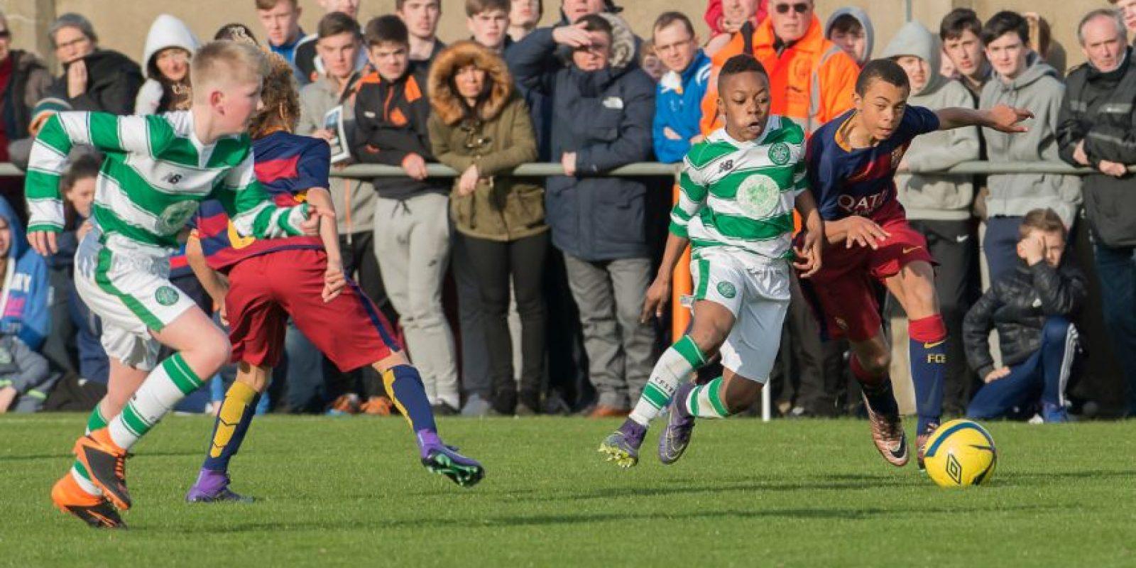 El pequeño atacante ofensivo debutó con sólo 13 años en la Sub 20 del Celtic. Foto:Paul Dolan-Flickr