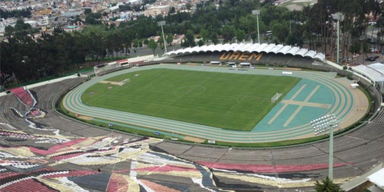 Actualmente lo utiliza el equipo de fútbol Potros de la UAEM, que hoy en día juega en la Liga del Ascenso. Foto:Facebook Potros UAEM