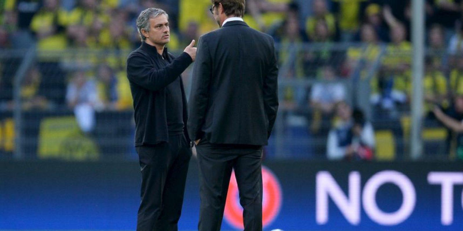 En 2013, Klopp y el Dortmund eliminaron en la semifinal de Champions League al Real Madrid de Mourinho. Foto:Getty Images
