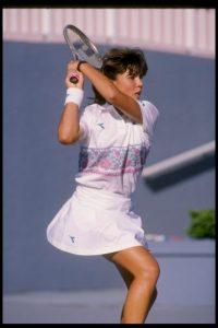 Jennifer Capriati es la tenista más joven que llega a una final. Jugó la última instancia del torneo Boca Ratón, en Florida, a los 13 años Foto:Getty Images
