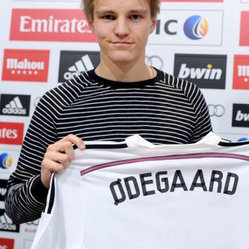 Martin Odegaard jugó una fase de clasificación europea a los 15 años Foto:Getty Images