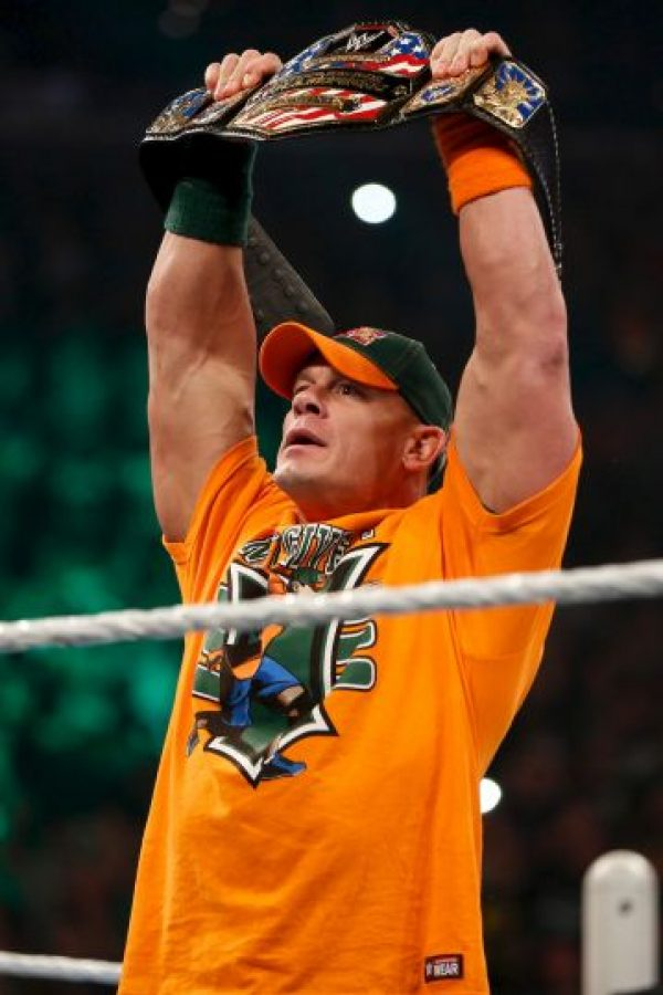 4. John Cena (93 puntos) Foto:Getty Images
