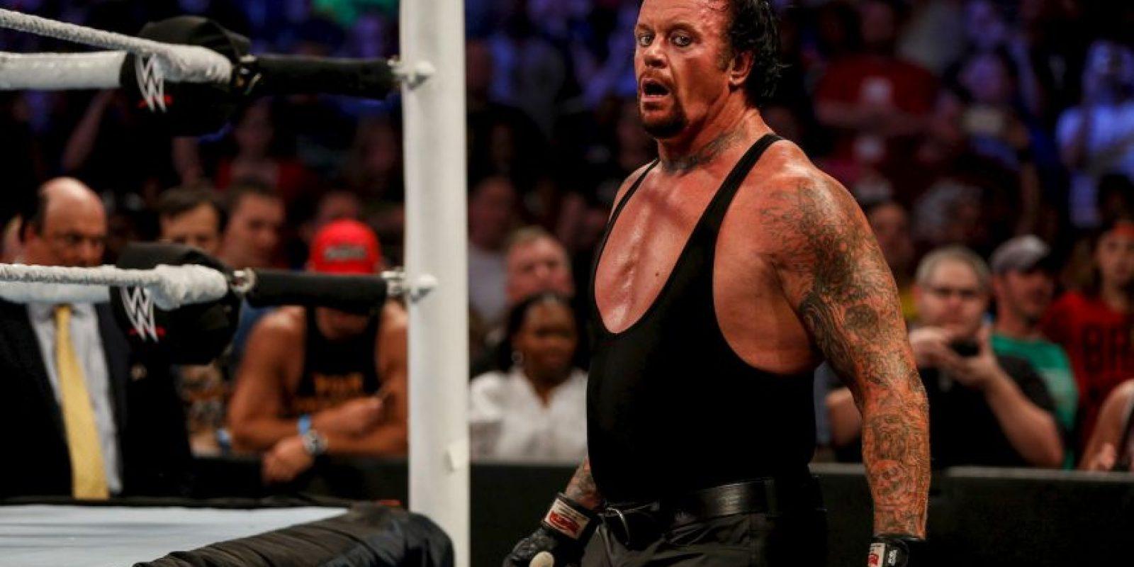 6. Undertaker (93 puntos) Foto:Getty Images