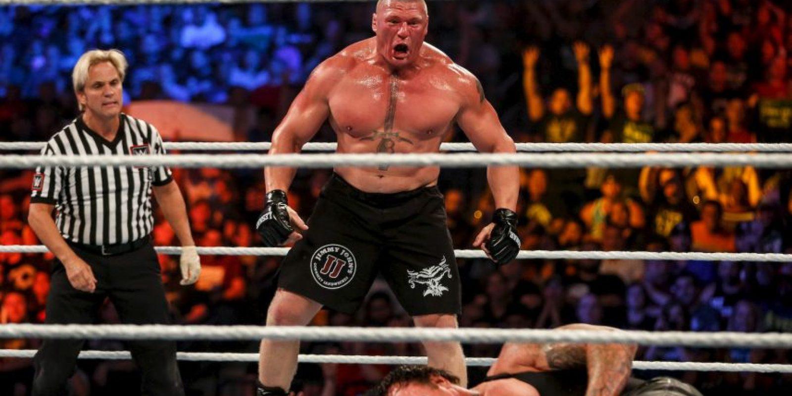 1. Brock Lesnar (95 puntos) Foto:Getty Images