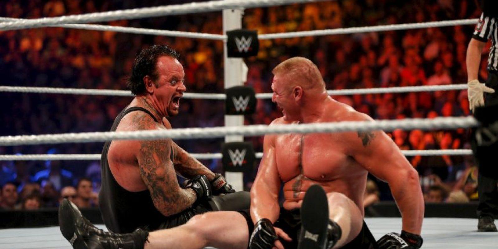 Los 10 mejores luchadores de WWE 2K17 Foto:Getty Images