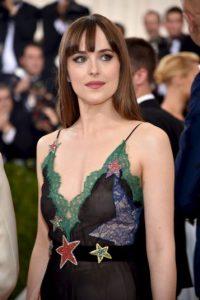 """La actriz es famosa por protagonizar """"Cincuenta Sombras de Grey"""" Foto:Getty Images"""