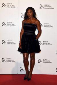 La exnúmero uno del tenis mostró sus mejores pasos de baile Foto:Getty Images