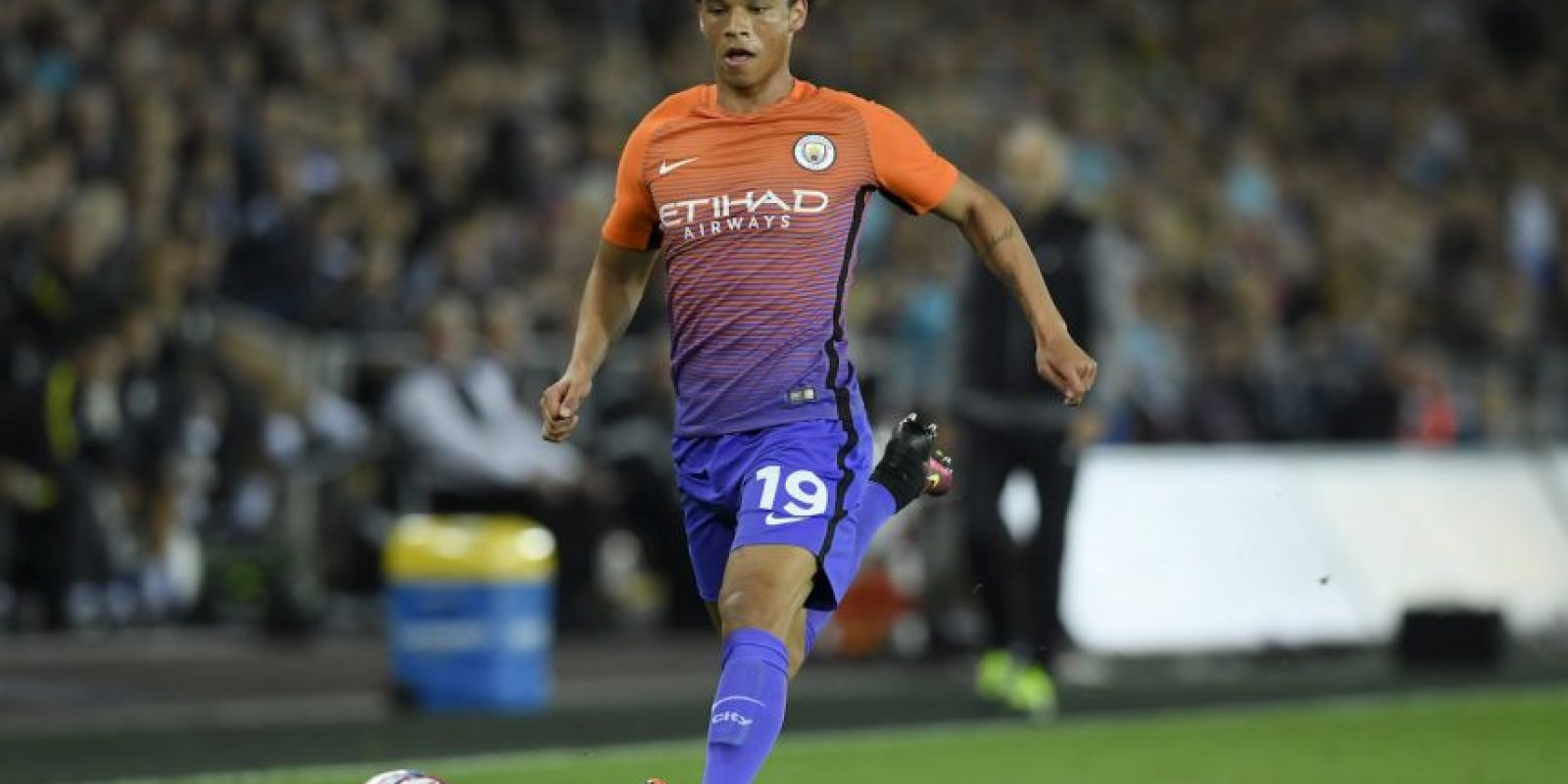 9.-Leroy Sané – 19 años (Manchester City) Foto: Getty Images