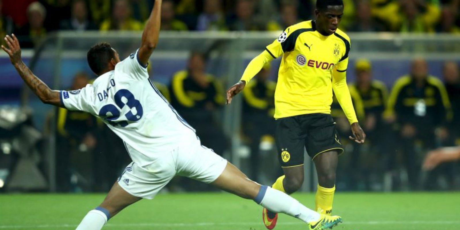 10.-Ousmane Dembélé – 19 años (Borussia Dortmund) Foto:Getty Images