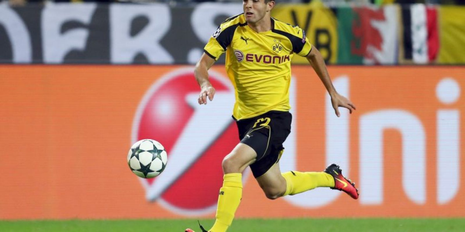 15.-Christian Pulisic – 18 años (Borussia Dortmund) Foto: Getty Images