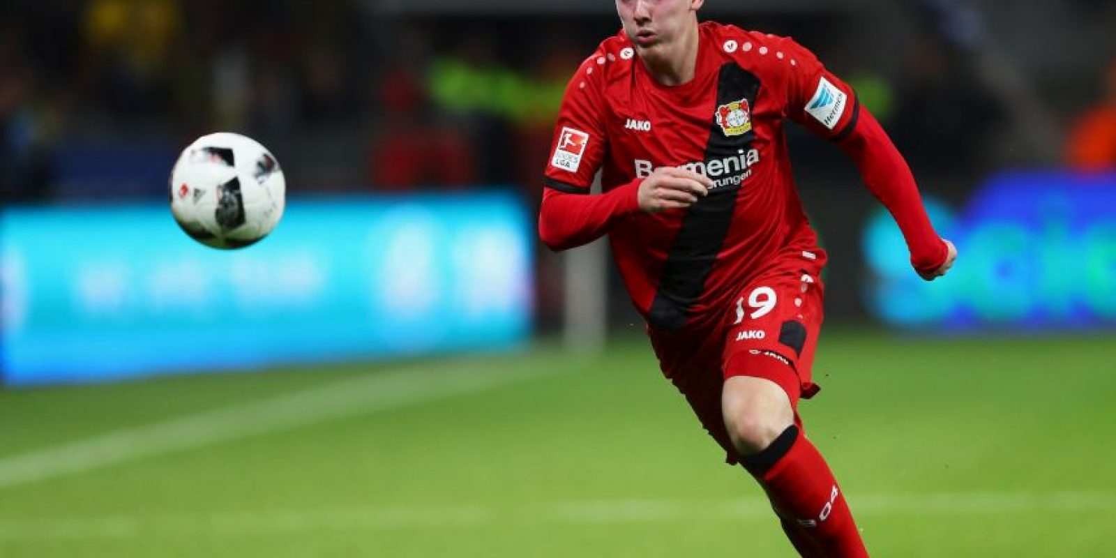 13.-Julian Brandt – 20 años (Bayer Leverkusen) Foto: Getty Images