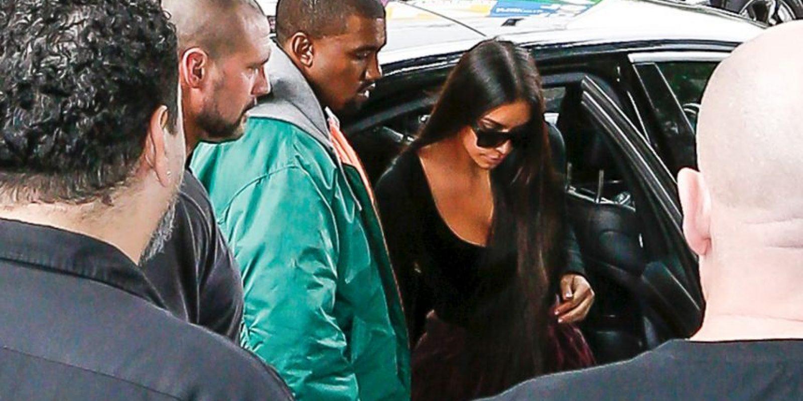 Fue acompañada de Kanye West Foto:Grosby Group