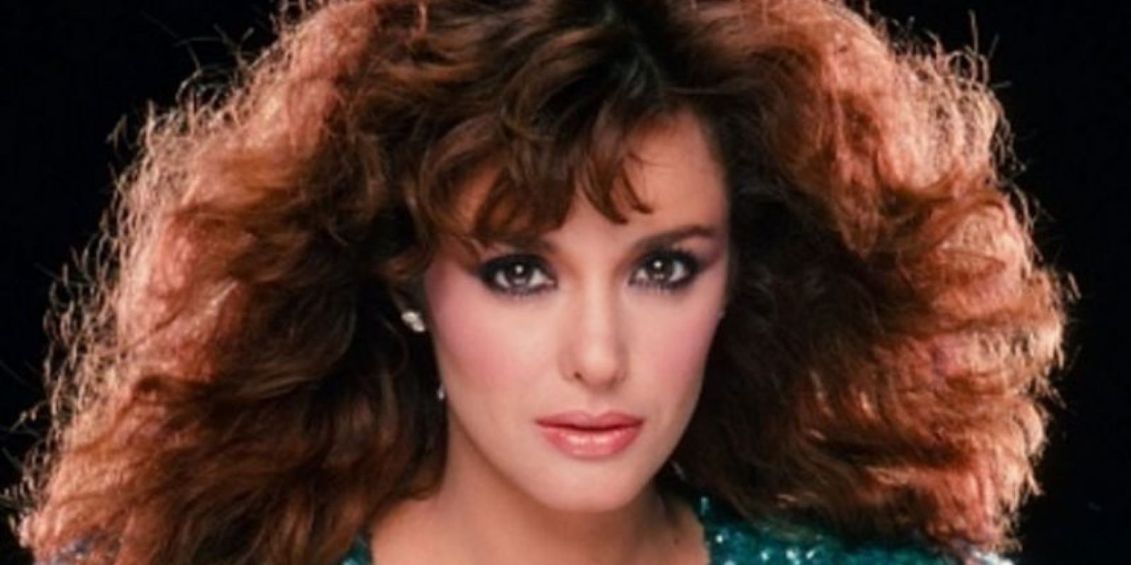 Lucía Méndez, actriz de telenovela antes de todas sus cirugías. Foto:Getty Images