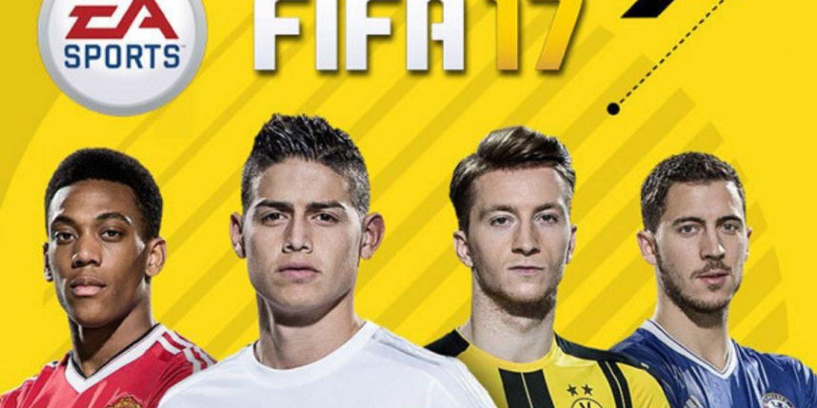 FIFA 17 salió al mercado el pasado 29 de septiembre Foto:FIFA 17