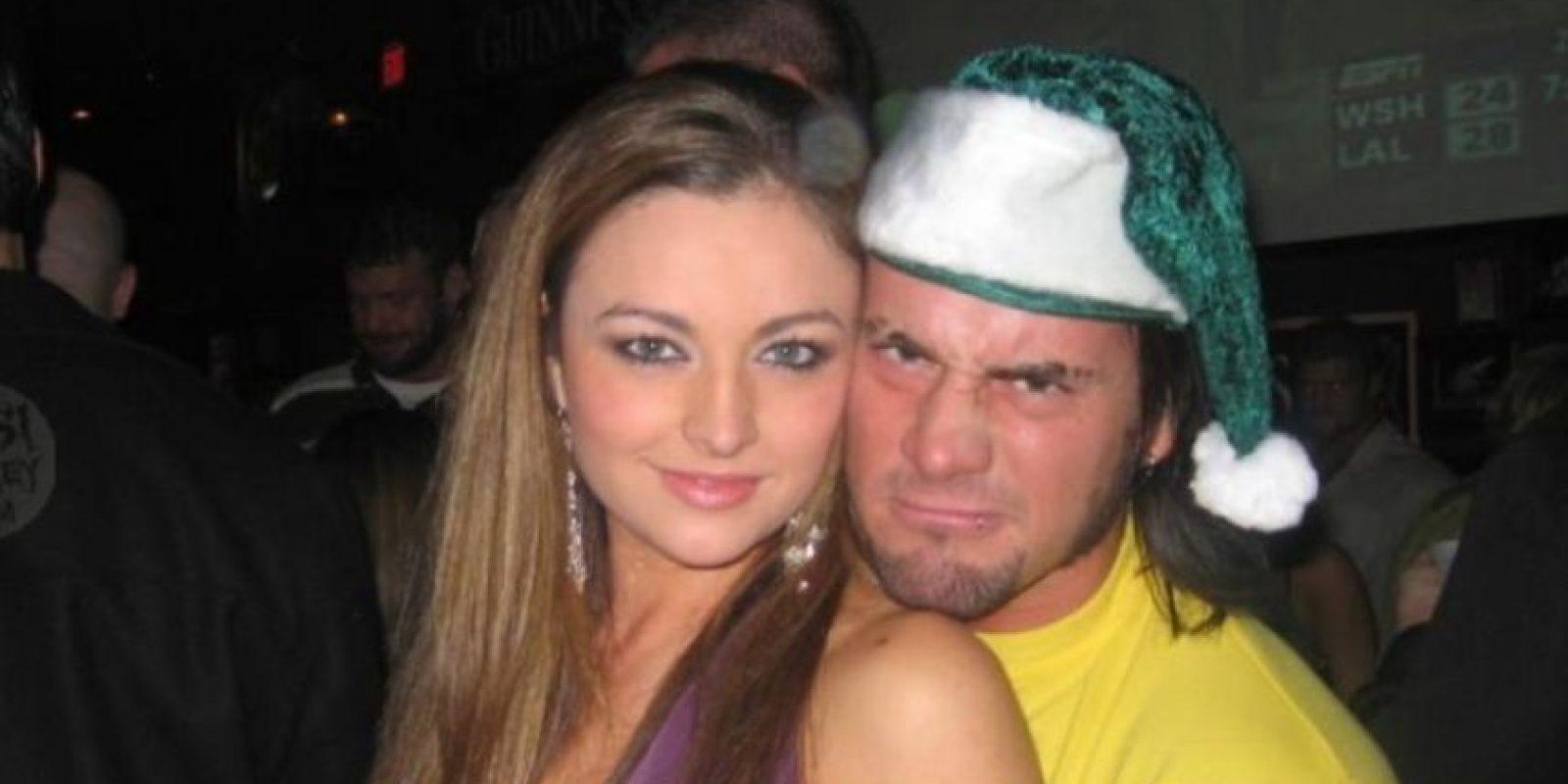 Punk tuvo una relación de 2005 a 2008 con Maria Foto:WWE