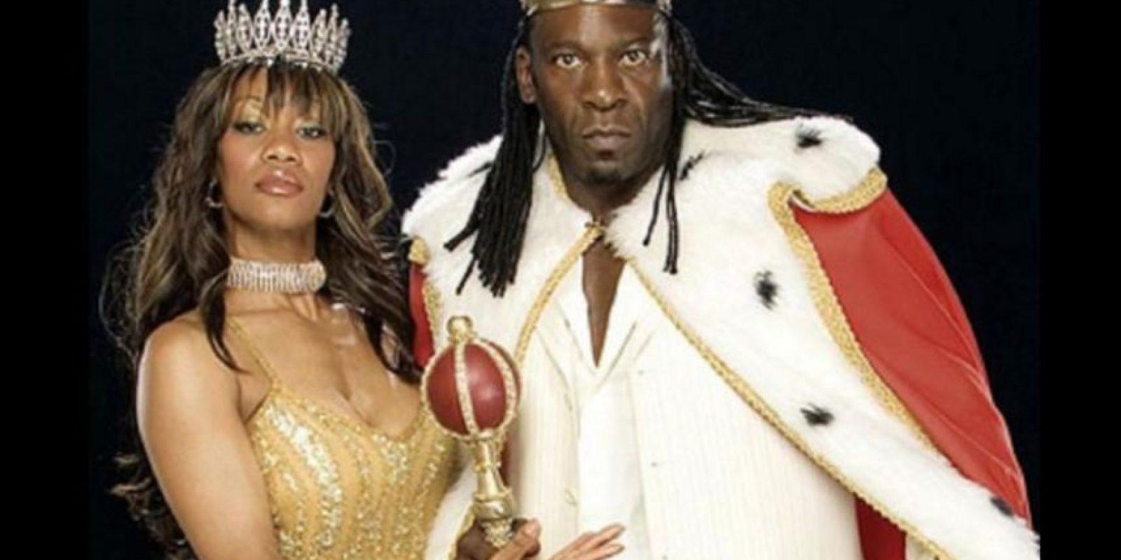 Booker T y Sharmell se casaron en 2005 Foto:WWE
