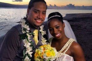 A principios de 2014, Jimmy Uso se caso con Naomi Foto:WWE