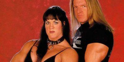 """Chyna mantuvo un romance con Triple H. Pero después """"El Juego"""" comenzó una relación secreta con Stephanie McMahon. Hasta que decidió terminar con la ahora difunta para formalizar su compromiso con la """"Princesa"""". Foto:WWE"""