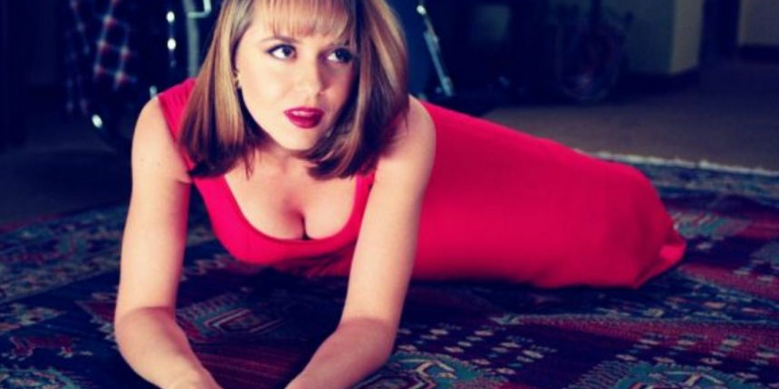 "Así lucía Gabriela Spanic en ""La usurpadora"". Foto:Televisa"