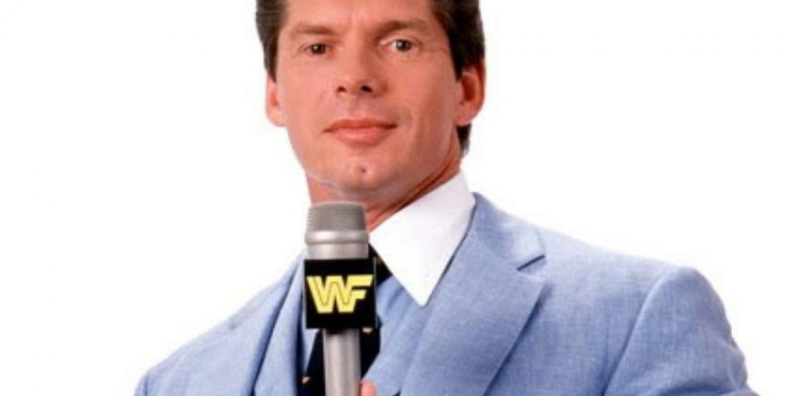 Así ha envejecido Vince McMahon Foto:WWE