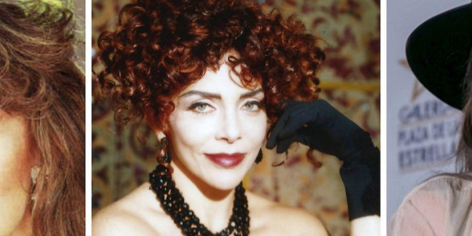 Verónica Castro, diva de telenovela en los 90 Foto:Televisa/Getty Images