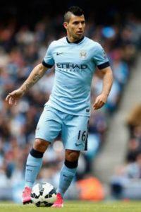 El argentino juega en el Manchester City de Inglaterra. Foto:Getty Images