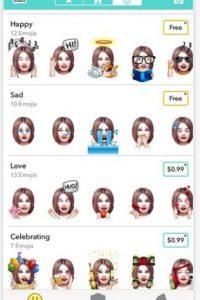 La app para convertirte en miles de emoji Foto:Daniel McLean
