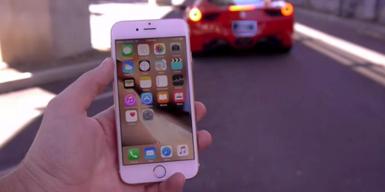 Sin embargo, el iPhone 6s funcionó sin problemas después de la prueba Foto:TechRax/YouTube