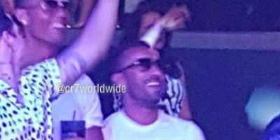 Cristiano Ronaldo disfruta en Las Vegas con Jennifer López