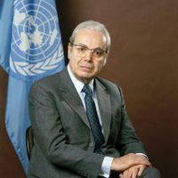 Javiér Pérez de Cuéllar: de 1982 a 1991 Foto:ONU