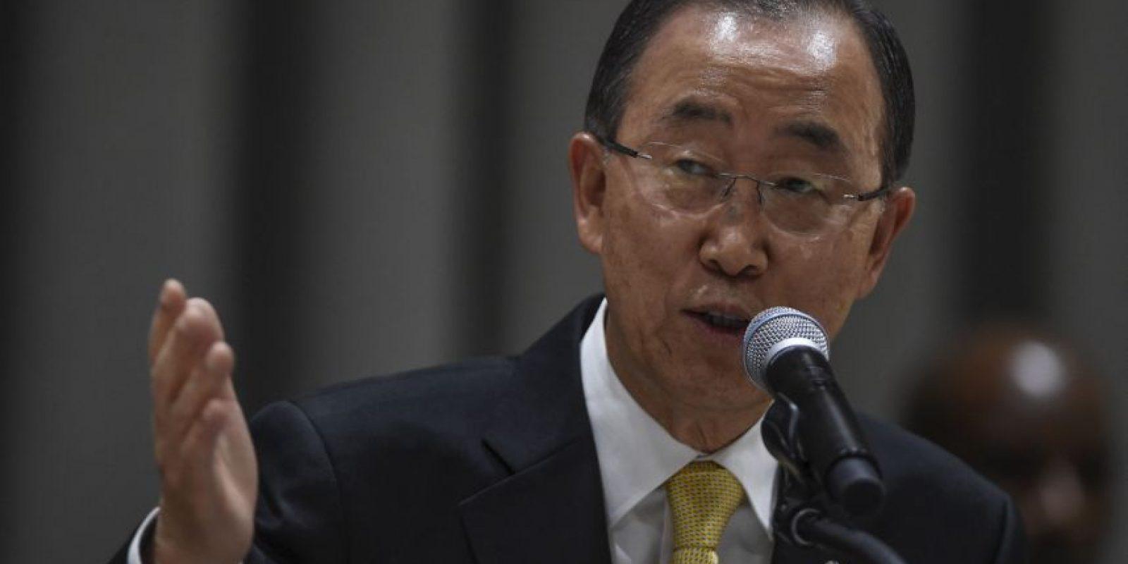 Otros secretarios generales de la ONU: Ban Ki-moon. Inició el 1 de enero de 2007 Foto:Getty Images