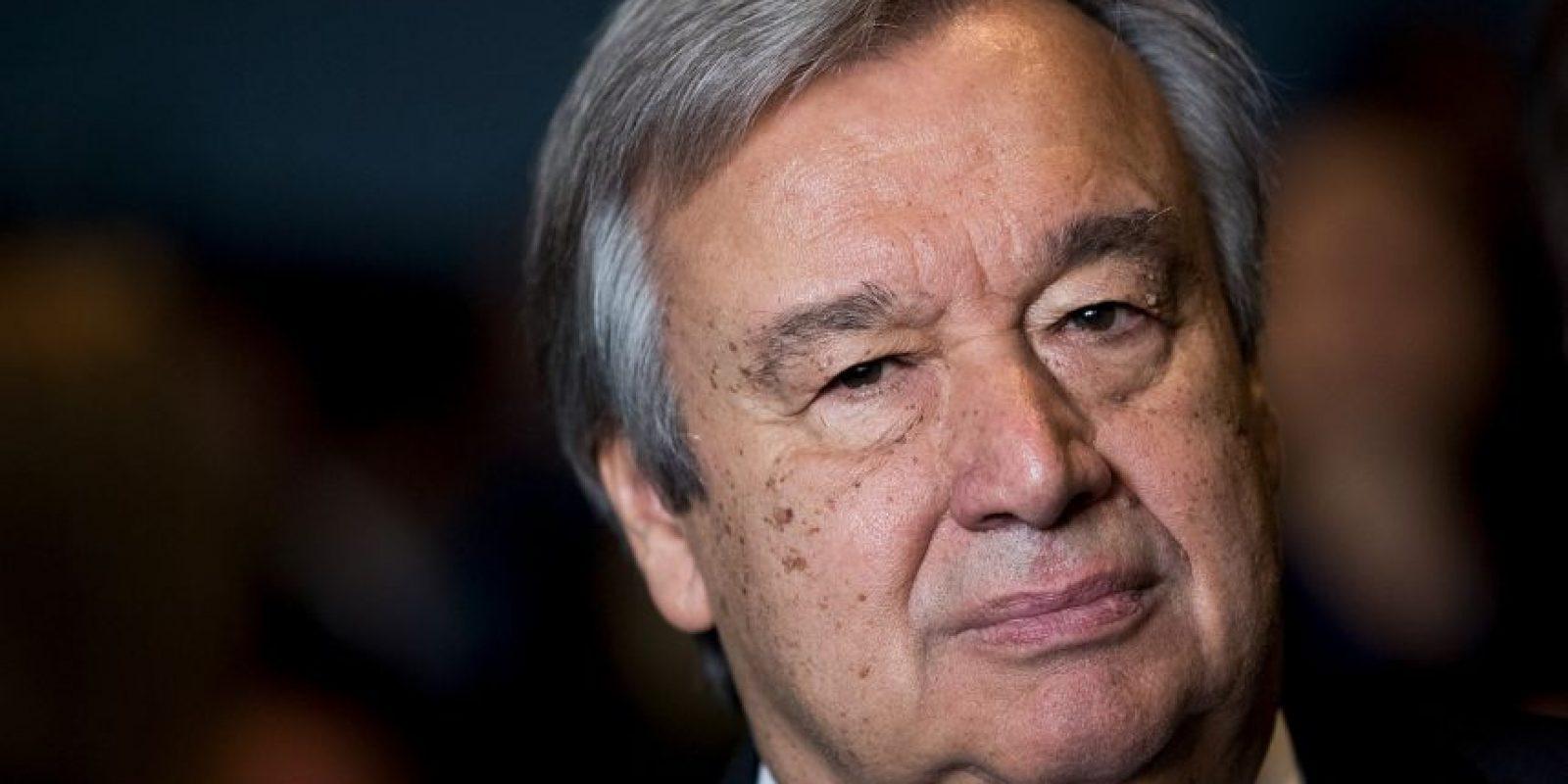 Antonio Guterres será el nuevo Secretario General de las Naciones Unidas Foto:Getty Images