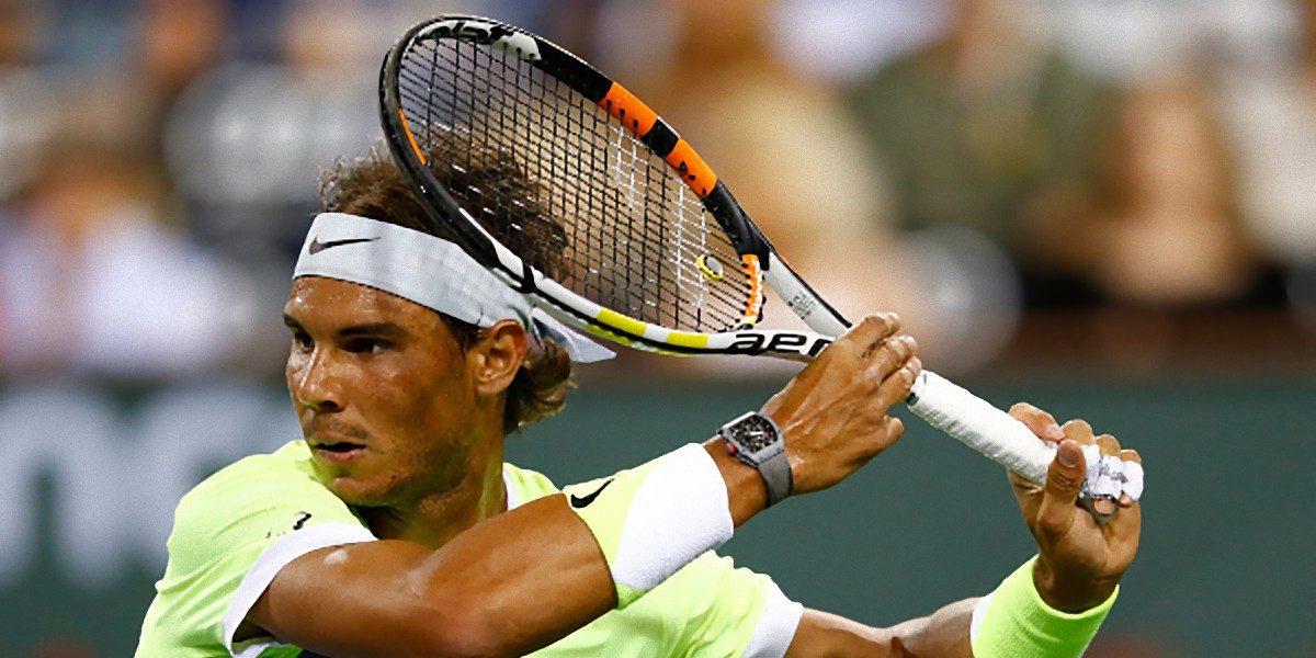 Rafa Nadal gana en su debut en Indian Wells